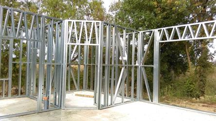 maison individuel en structure métallique